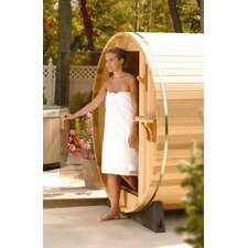 4 Person Barrel Sauna