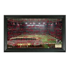NFL Signature Gridiron Framed Graphic Art