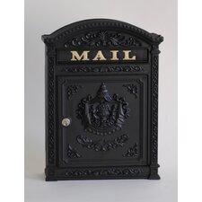Victorian Style Locking Mailbox