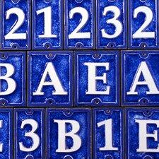 Tiles Lettering Number