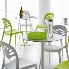Crown Round Table with ForYou2 Stacking Chairs