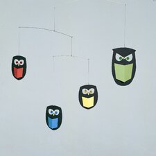 <strong>Flensted Mobiles</strong> The Wisest Owls Mobile