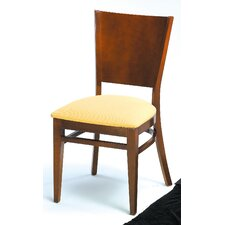 Melissa Solid Back Wood Dining Chair