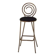 Spiral Swivel Bar Stool