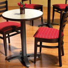 "<strong>Grand Rapids Chair</strong> Zeus 24"" Round Table Set"