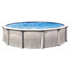 "<strong>Trevi</strong> Aqua Deluxe 52"" Depth Round Above Ground Pool"