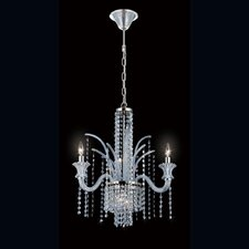 Nava 7 Light Crystal Chandelier