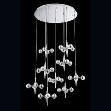 Pearla 16 Light Crystal Pendant