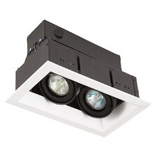 2 Light MR16 Square Multiple Recessed Kit