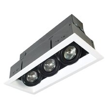 3 Light MR16 Multiple Recessed Kit