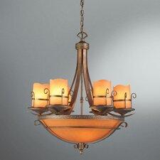 Rustico 9 Light Chandelier