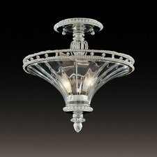 Beauchamp 2 Light Semi Flush Mount