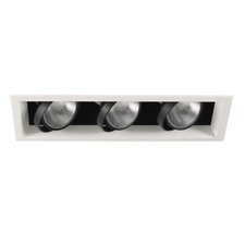 3 Light Recessed Kit