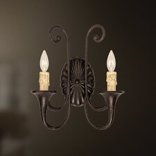<strong>Eurofase</strong> Beaumount 2 Light Wall Sconce