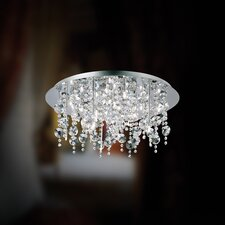 Glassia Eighteen Light Semi Flush Mount
