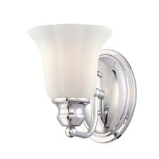 Fountaine 1 Light Wall Sconce
