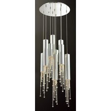 Groove 9 Light Pendant