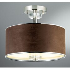 Savvy 3 Light Semi Flush Mount