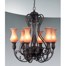 <strong>Eurofase</strong> Richtree 6 Light Chandelier
