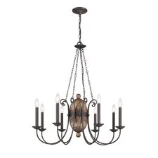 Albero 8 Light Chandelier