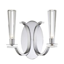 <strong>Eurofase</strong> Cromo 2 Light Wall Sconce