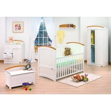 Barcelona 7 Piece Nursery Set in White Beech