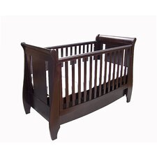 Lucas 2 Piece Nursery Set in Espresso