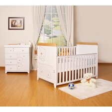 Three Bears 2 Piece Nursery Set in White