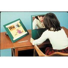 Portable Ultra-Safe Glassless Speech Therapy Mirror