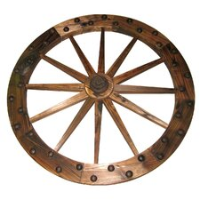 <strong>United General Supply CO., INC</strong> Deluxe Wooden Wagon Wheel