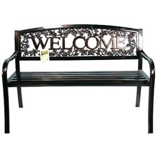 <strong>United General Supply CO., INC</strong> Metal Welcome Bench