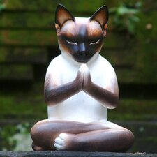 Kitty Meditates Figurine