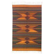Ocre Zapotec Rug