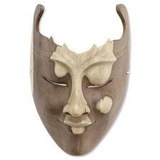 <strong>Novica</strong> Cutout Mask Wall Décor