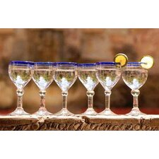 'Acapulco' Wine goblets (Set of 6)