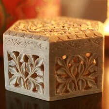 'White Jasmine' Jewelry Box