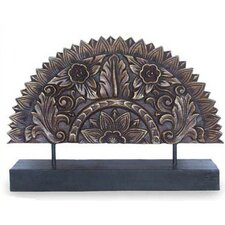 <strong>Novica</strong> Sunflower Fan Sculpture