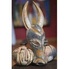 Brave Buffalo Ashanti Mask Wall Décor