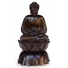 'Meditating Buddha on Lotus' Figurine