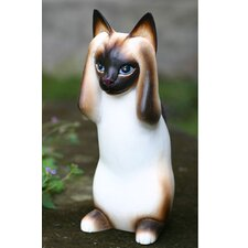 'Hear No Evil Siamese Cat' Figurine