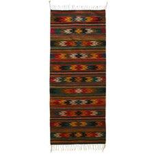 Guelaguetza Dance Zapotec Rug