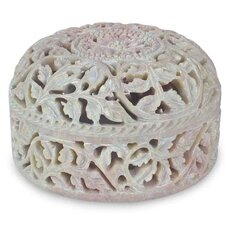 <strong>Novica</strong> Floral Arabesque Jewelry Box