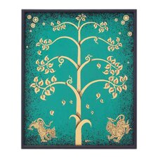 Impression in the Tree II by Parinya Nanjai Abbam Framed Graphic Art