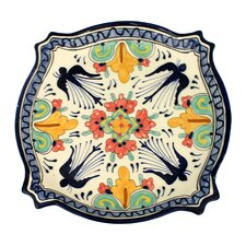 "Jorge Quevedo 11.5"" Swallows Serving Platter"