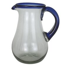 <strong>Novica</strong> Javier and Efren Grace Glass Pitcher