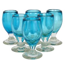Quirarte Family Celebration Blown Glass (Set of 6)