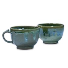 <strong>Novica</strong> Pro Rehabilitation Group Artisan Ceramic Teacup (Set of 2)