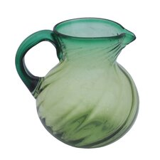 Javier and Efren Blown Glass Pitcher