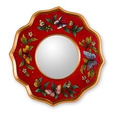 The Gelacio Giron Reverse Painted Glass Mirror