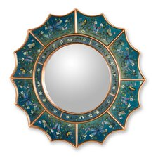 The Gelacio Giron Reverse Painted Glass Mirror